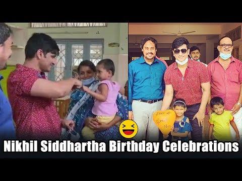 Hero Nikhil Siddhartha spent birthday at Care & Share charitable trust