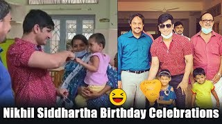 Hero Nikhil Siddhartha spent birthday at Care & Share ..