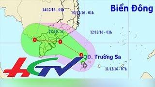 Tin nóng 11 giờ - 12/12/2016 | Áp thấp nhiệt đới cách đảo Huyền Trân khoảng 130km