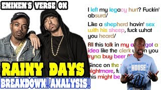 Eminem - Rainy Days: Lyrics/Rhymes BREAKDOWN! ANALYSIS! REACTION!