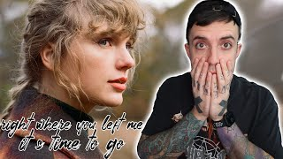 Taylor Swift - Right Where You Left Me // It's Time To Go REACTION (evermore bonus tracks)