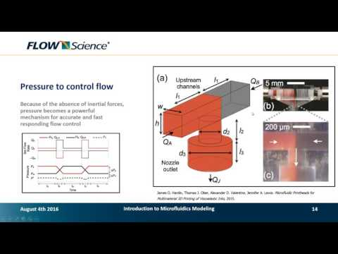 Webinar: Microfluidic Flow Modeling