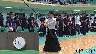 第48回全関東学生弓道選手権大会男子個人戦順位決定遠近競射
