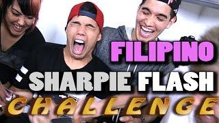 FILIPINO SHARPIE FLASH CHALLENGE! ft. DTRIX