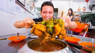 Malaysian Food in Melaka - SPECIAL SATAY + Asam Pedas and Chicken Rice Balls | Malacca, Malaysia!