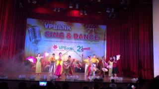 Bài ca VPBank- Liên quân KVH- Giải nhất VPB Sing & Dance 2014