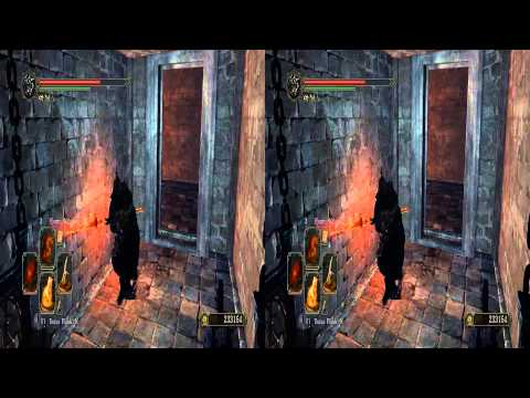 DarkSouls II Ivory King - First death 3D