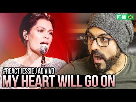 REAGINDO a Jessie J - My Heart Will Go On - 单曲纯享《歌手2018》第9期 Singer 2018【歌手官方频道】