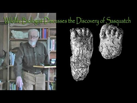 Sasquatch illustrated lecture- Part 2: Bigfoot Tracks and Track Casts