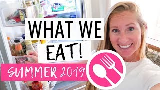What We Eat In A Day Summer 2019 | Family of 5 FOOD ON A BUDGET