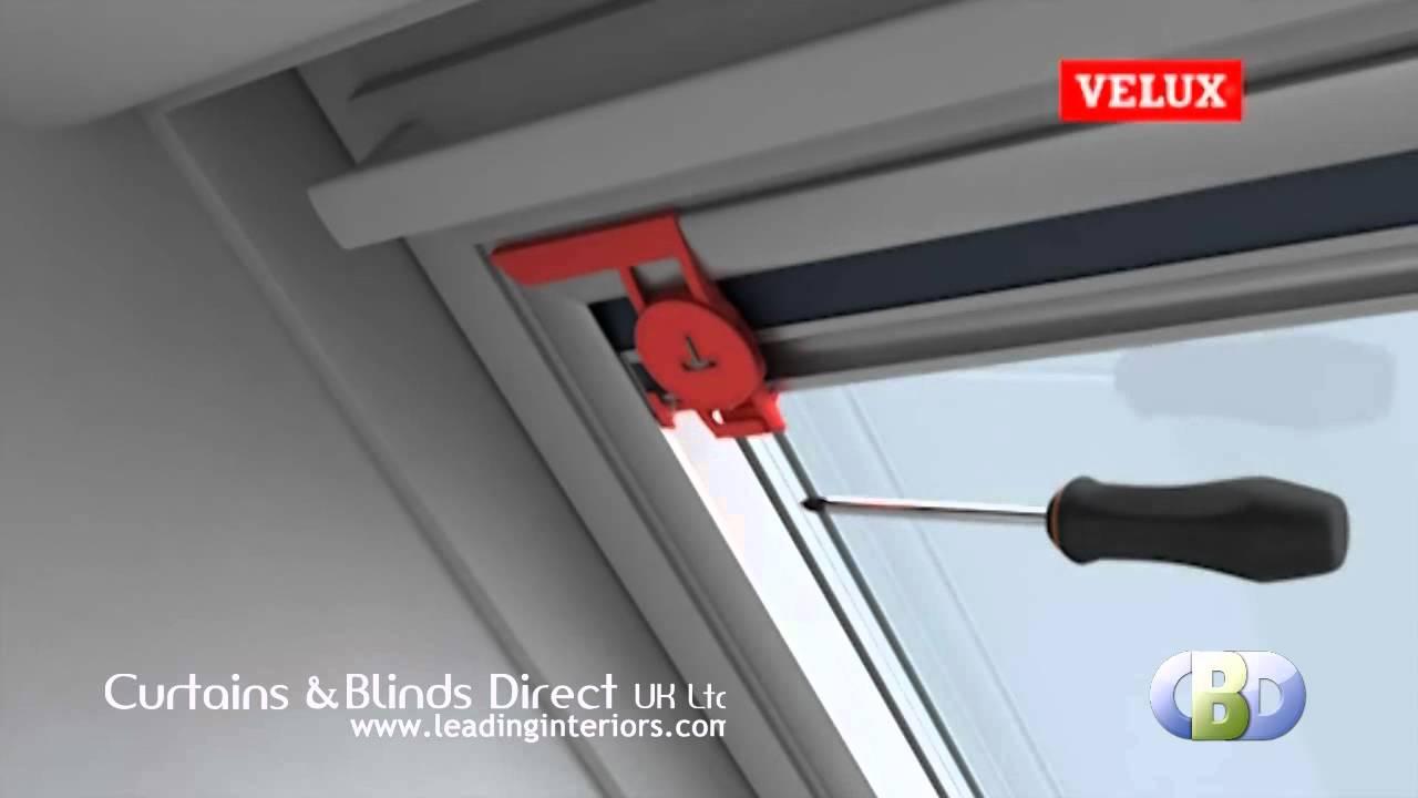 Velux Blackout Blind Installation At Www Leadinginteriors