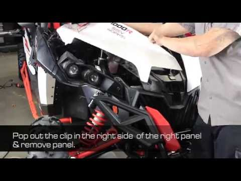 How To Install aFe Power 13-16 Can-Am Maverick 1000cc Aries Intake System Installation 85-80066