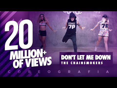 Don't Let Me Down - The Chainsmokers - Coreography - FitDance Life