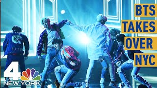 BTS Fans Explain Why They're Camping out for The K-Pop Sensation's Central Park Show | NBC New York