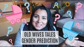 AM I HAVING A BOY OR GIRL? OLD WIVES TALES GENDER PREDICTION PREGNANCY SYMPTOMS | NILLYDAHLIA