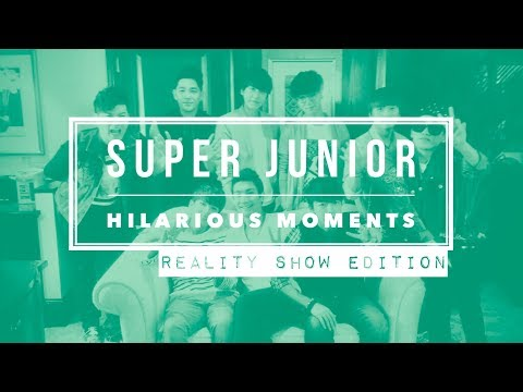 SUPER JUNIOR Hilarious Moments [Part 6] - Reality Show Edition