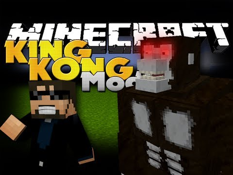 Minecraft Mod - King Kong Mod - New Boss and Items - SSundee  - IRl523LpZTo -