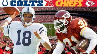 The Arrowhead Air & Ground Assault! (Colts vs. Chiefs, 2003 AFC Divisional)