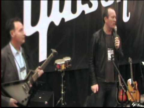 Brendon Small NAMM 1-26-2013 Gibson Booth