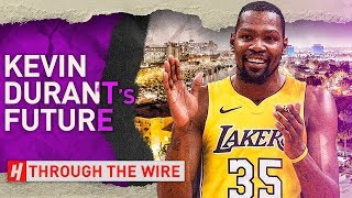What's Going To Happen To Kevin Durant After This Season | Through The Wire Podcast