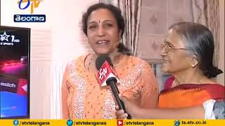 PV Sindhu Mother Expresses Happiness on daughter winning m..