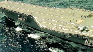 SUPERCARRIER USS Gerald R. Ford IN ACTION – Sea Trials & FLIGHT DECK OPERATIONS!
