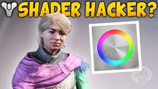 Destiny: SHADER HACKER! Custom Shaders & New Eva Levante Faction? (Spring DLC April Update)