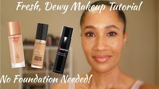 A Fresh, Dewy Face Tutorial | Inspired by Desi Perkins