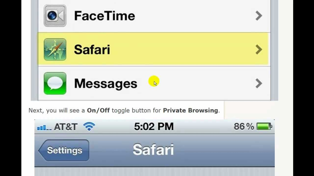 private browsing on iphone enable browsing on the iphone 15911