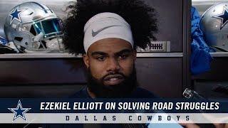 Locker Room: Ezekiel Elliott On Solving Road Struggles | Dallas Cowboys 2018