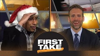 Stephen A. Smith trolls Cowboys fans in hilarious Christmas fashion   First Take   ESPN