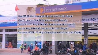 Tin Tức 24h Mới Nhất Hôm Nay : Giá xăng dầu đồng loạt tăng từ 15h ngày 20-11-2017