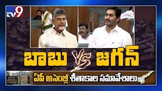 Watch: YS Jagan Vs Chandrababu fight in AP Assembly..