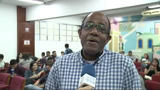 Dialethos Eventos - Abel Neto faz palestra para alunos de jornalismo da Unisanta