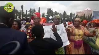 EKITI ELECTION: PDP LEADERSHIP PROTESTS ALLEGED ATTACK ON FAYOSE, SEEKS DIVINE INTERVENTION