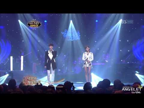 20101017. ⓢⓑⓢ.chocolate  헤어지러가는길. 임정희&조권(2am kwon)