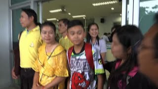 Out of Hospital, Thai Boys Meet with Media
