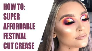 Pout Patrol: How to- AFFORDABLE Colourful Cut Crease