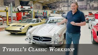 Mercedes-Benz 300 SL Gullwing - Recommissioning an Automotive Icon | Tyrrell's Classic Workshop