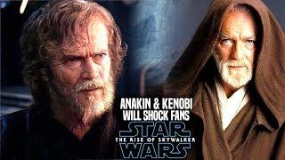 The Rise Of Skywalker Anakin & Kenobi Leaks Will Shock Fans! (Star Wars Episode 9)