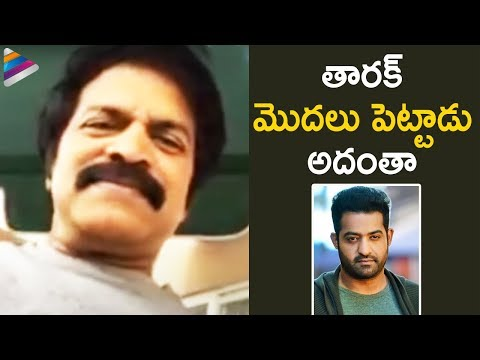 Brahmaji says about Jr NTR during interview with frustrated woman Sunaina