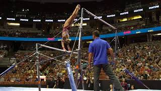 Ashton Locklear - Uneven Bars - 2017 P&G Championships - Senior Women - Day 2