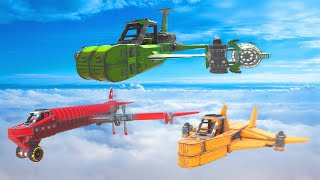 WHO CAN BUILD THE BEST PLANE?! (Trailmakers)