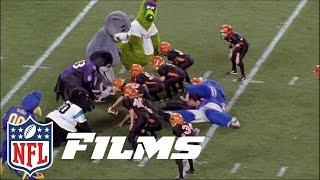 #6 Mascot Mayhem | NFL Films | Top 10 Football Follies of All Time