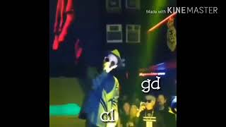 g dragon and cl kiss