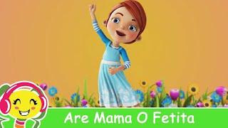 Are Mama O Fetita Frumusica Foc - Cantece Gradinita .ro
