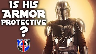 How protective is the MANDALORIAN'S armor? STAR WARS