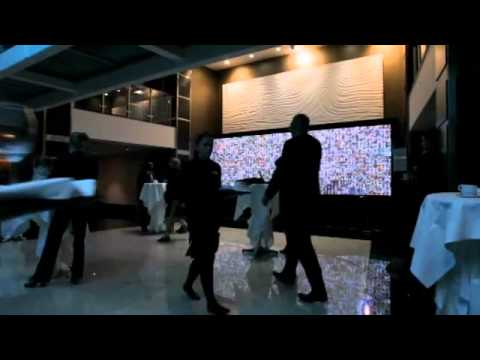 Bespoke Custom Built High Resolution Interactive Projection Wall for Bill Gates' GAVI Conference
