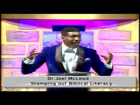 Stomping out Biblical Illiteracy Dr. Joel McLeod 10-12-2020