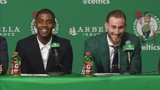 (FULL) Kyrie Irving and Gordon Hayward Boston Celtics introductory news conference | ESPN